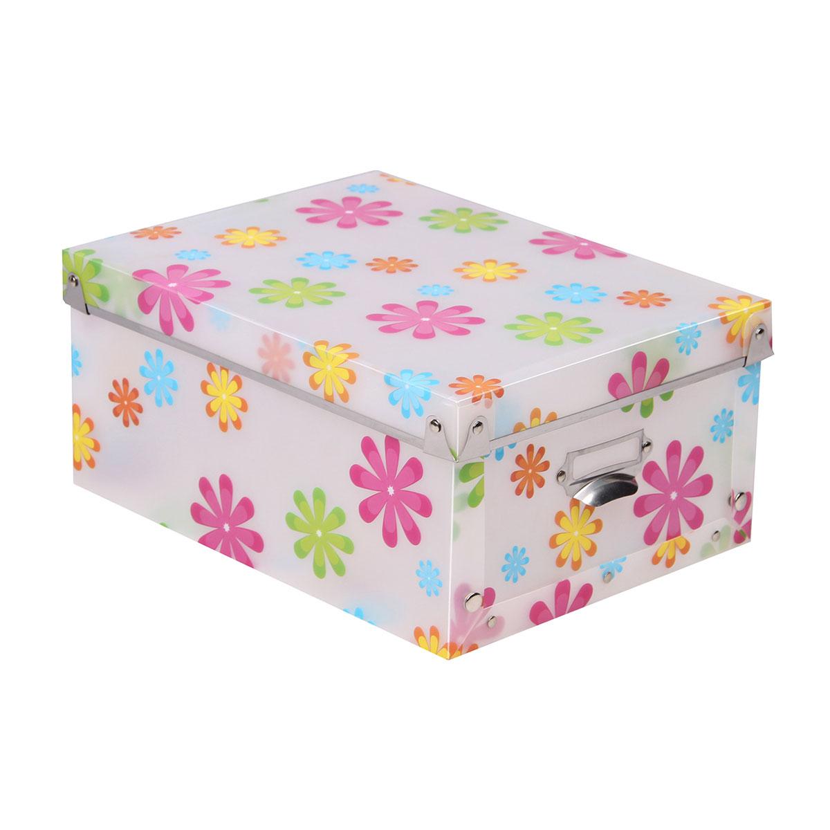 Короб для xранения Miolla, 30,5 x 22,5 x 13,5 см короб для xранения обуви miolla 52 x 30 x 11 см