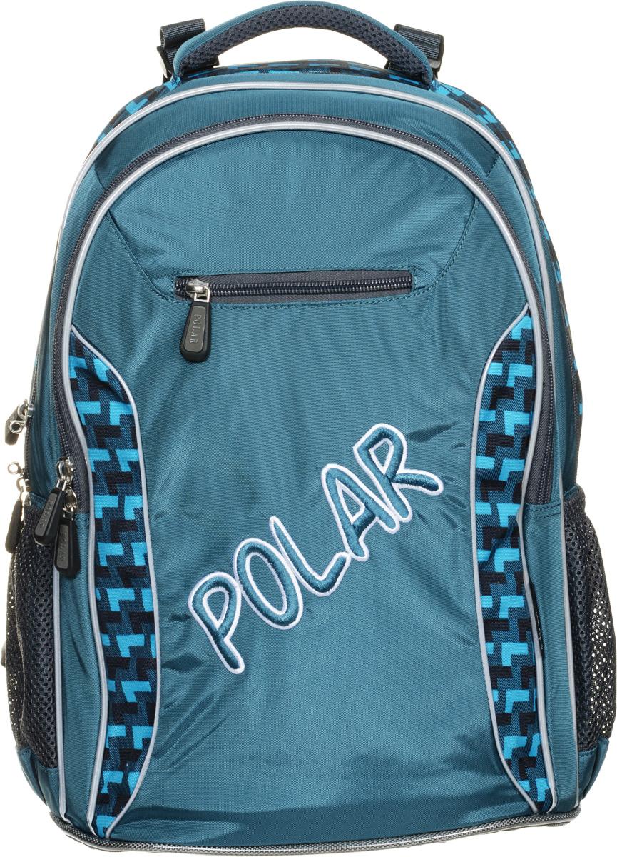 цены на Рюкзак детский городской Polar, 26 л, цвет: зеленый. П0082-09  в интернет-магазинах