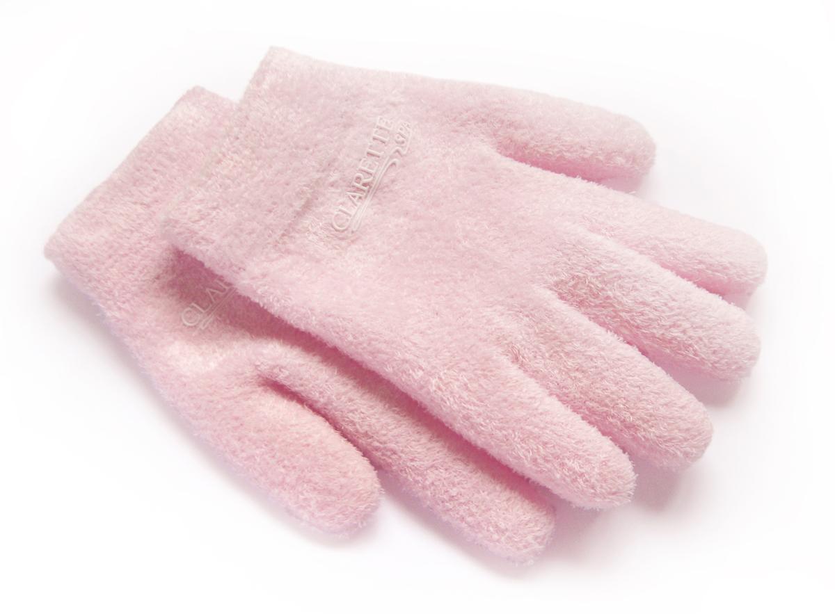 ClaretteУвлажняющие гелевые перчатки,розовые Clarette