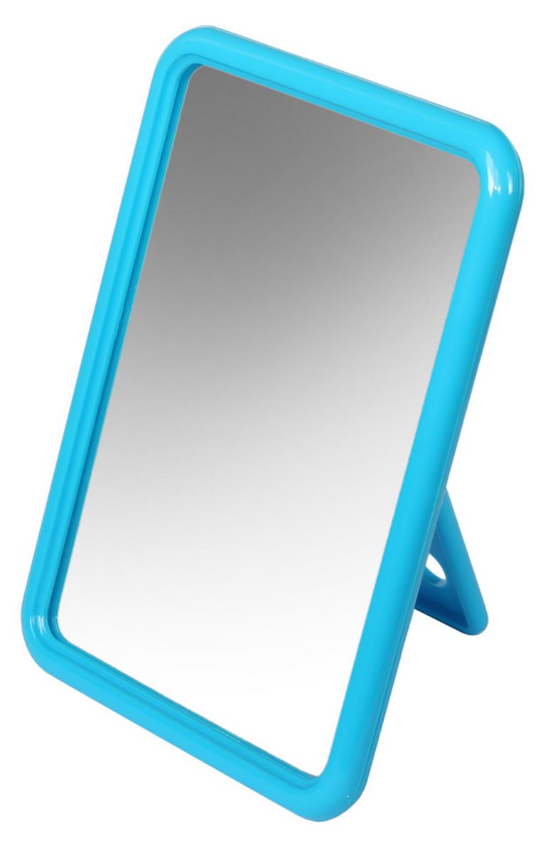 цена на Silva Зеркало настольное, прямоугольное, цвет: голубой