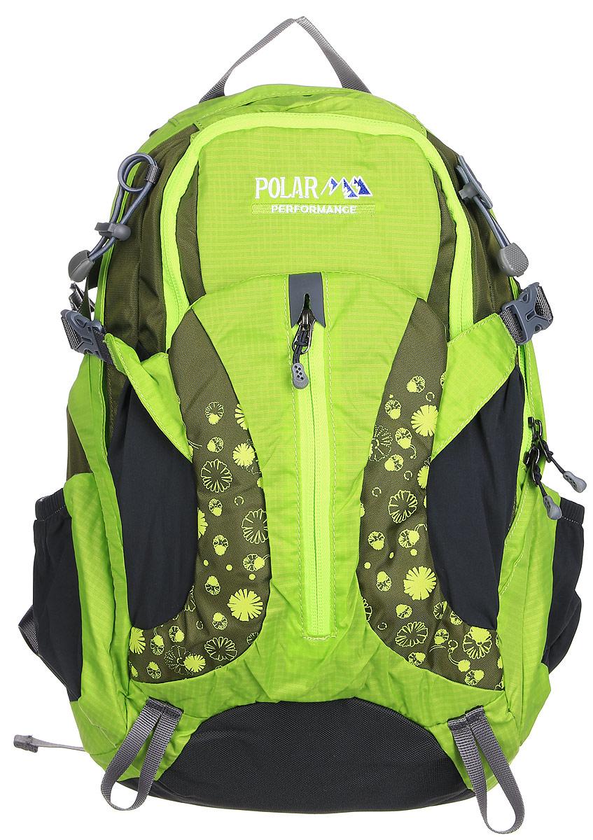 цены на Рюкзак городской Polar, 14,5 л, цвет: зеленый. П1552-09  в интернет-магазинах