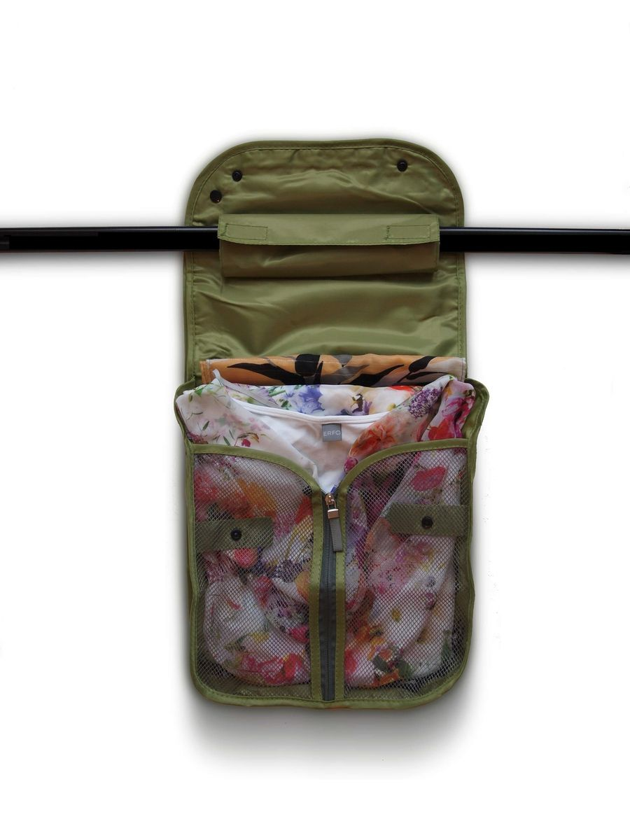 цена Чехол дорожный для одежды HomeMaster, SO-302, 40 х 25 х 8 см