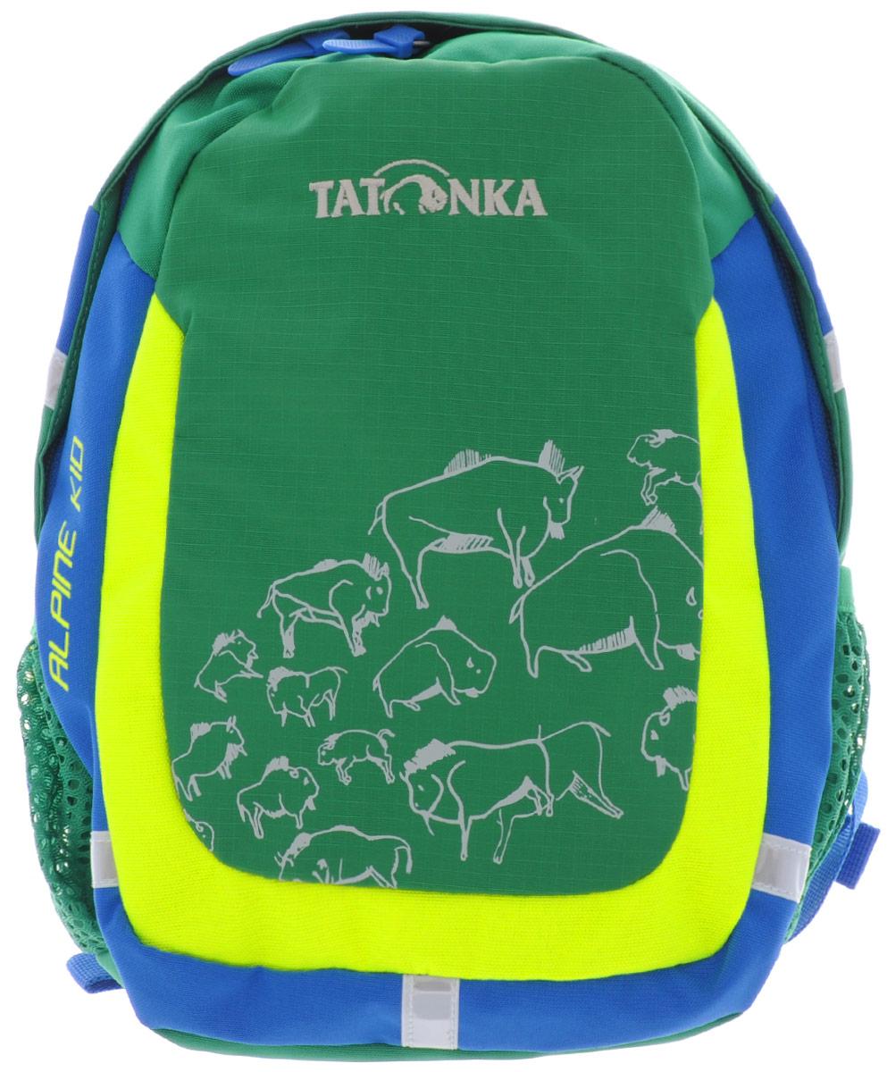 Рюкзак детский Tatonka Alpine Kid, цвет: зеленый, 6 л городской рюкзак fastbreak наследие 23 л зеленый 124300 114