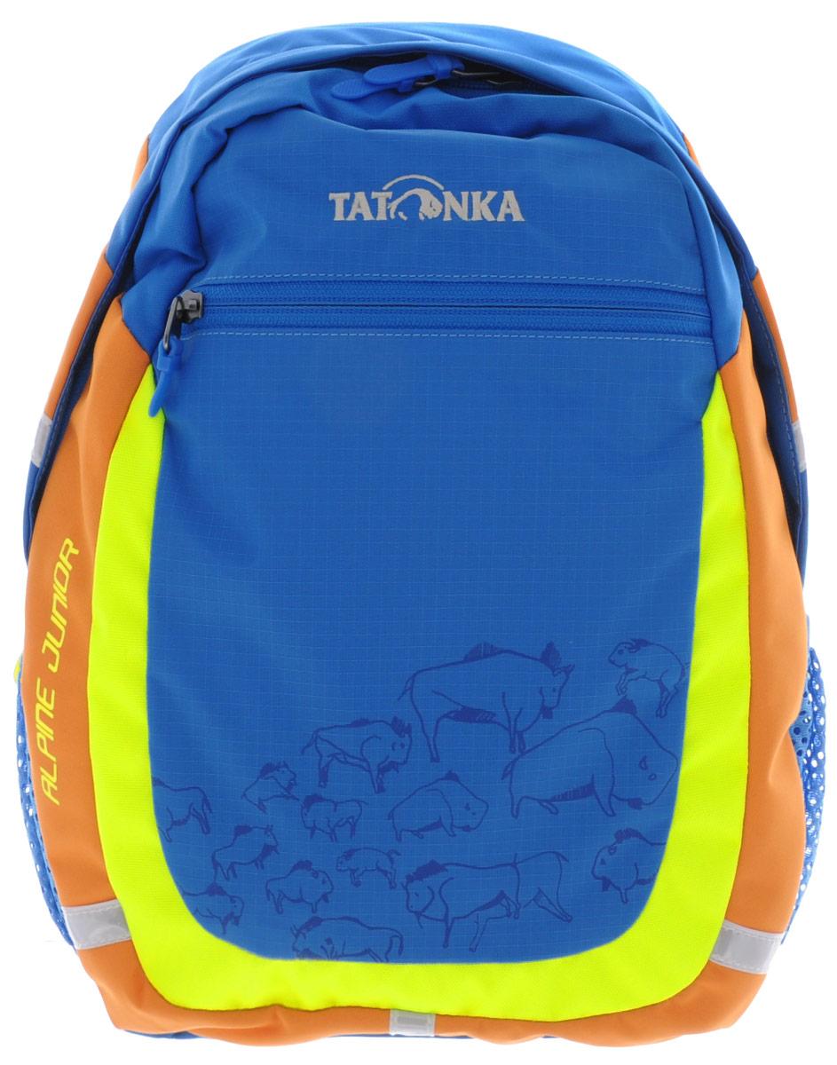 Рюкзак детский Tatonka Alpine Junior, цвет: синий, 11 л limpopo рюкзак детский junior superior moto
