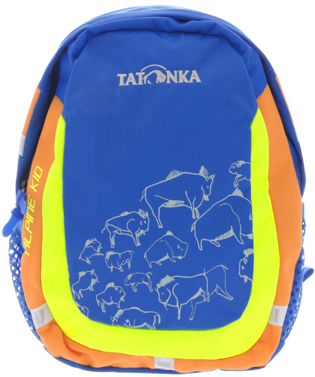 Рюкзак детский Tatonka Alpine Kid, цвет: синий, 6 л