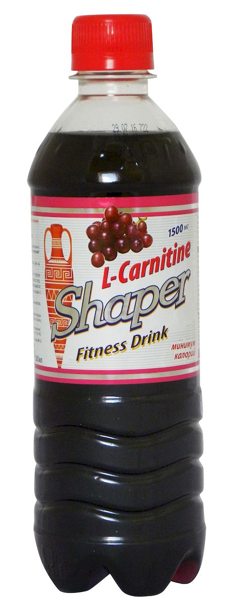 "Жиросжигатель Shaper ""L-Carnitine. Fitness Drink"", виноград, 0,5 л"