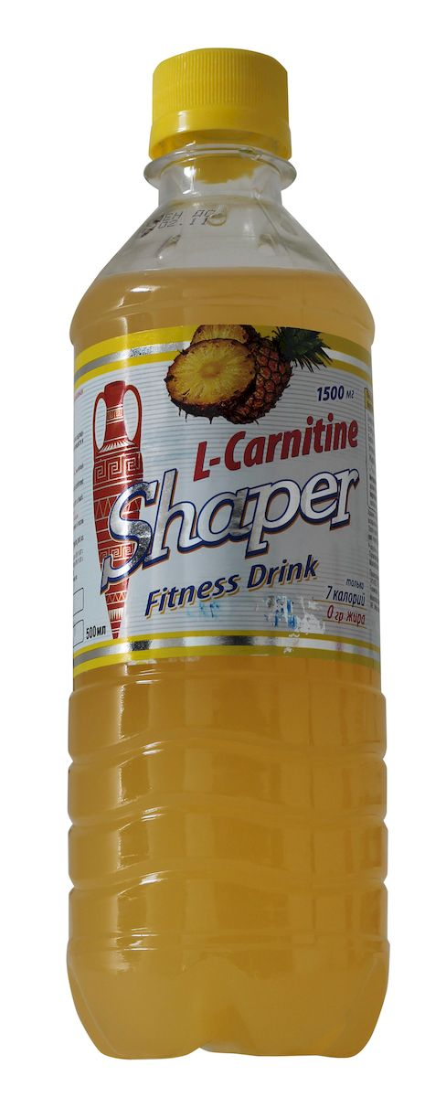 "Жиросжигатель Shaper ""L-Carnitine. Fitness Drink"", ананас, 0,5 л"