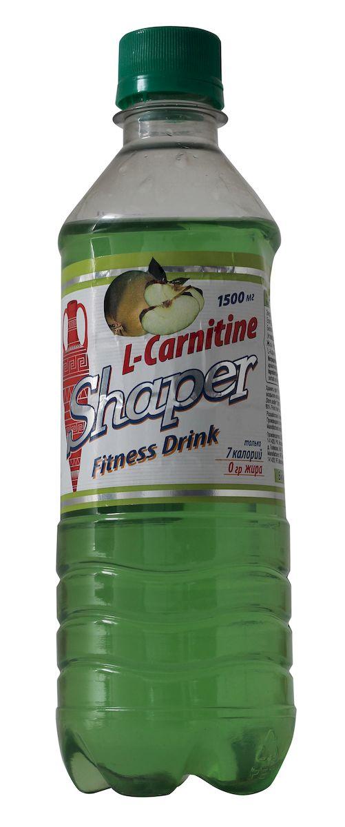 """Жиросжигатель Shaper """"L-Carnitine. Fitness Drink"""", яблоко, 0,5 л"""