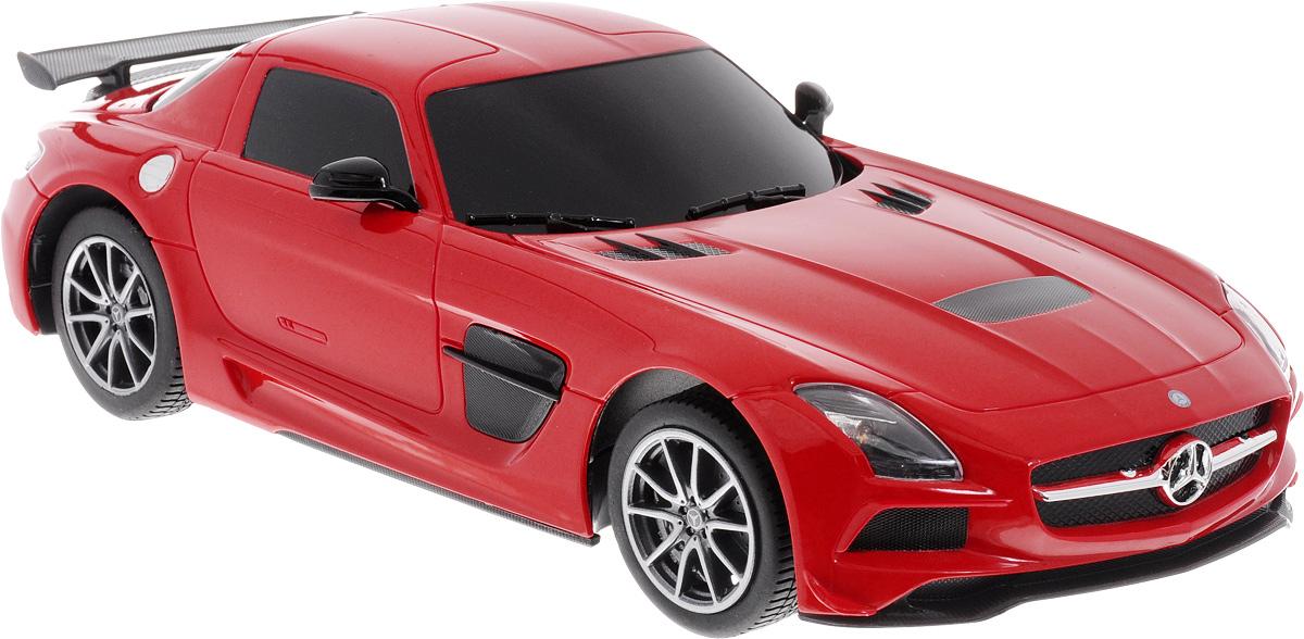 Rastar Радиоуправляемая модель Mercedes-Benz SLS AMG цвет красный масштаб 1:18 радиоуправляемая модель rastar mercedes g55 amg масштаб 1 24