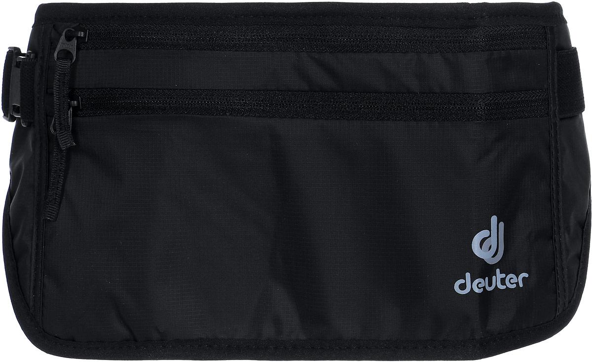 Кошелек Deuter Security Money Belt II, цвет: черный кошелек deuter security wallet ii цвет бежевый