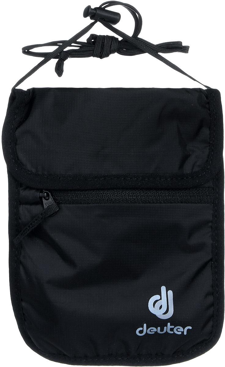 Кошелек Deuter Security Wallet II, цвет: черный кошелек deuter security wallet ii цвет бежевый