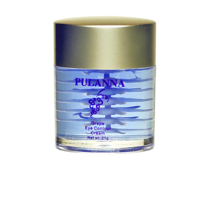 PulannaКрем для контура глаз на основе винограда - Eye Contour Cream 21 г Pulanna