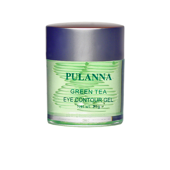 PulannaТонизирующе-укрепляющий гель для век на основе зеленого чая - Eye Contour Gel 21 г Pulanna