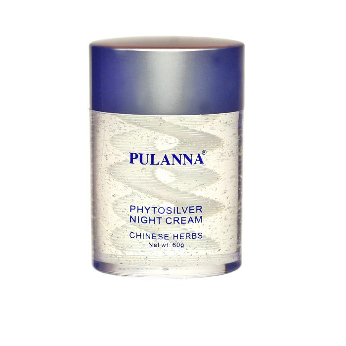 PulannaНочной крем на основе био-серебра - Phytosilver Night Cream 60 г Pulanna
