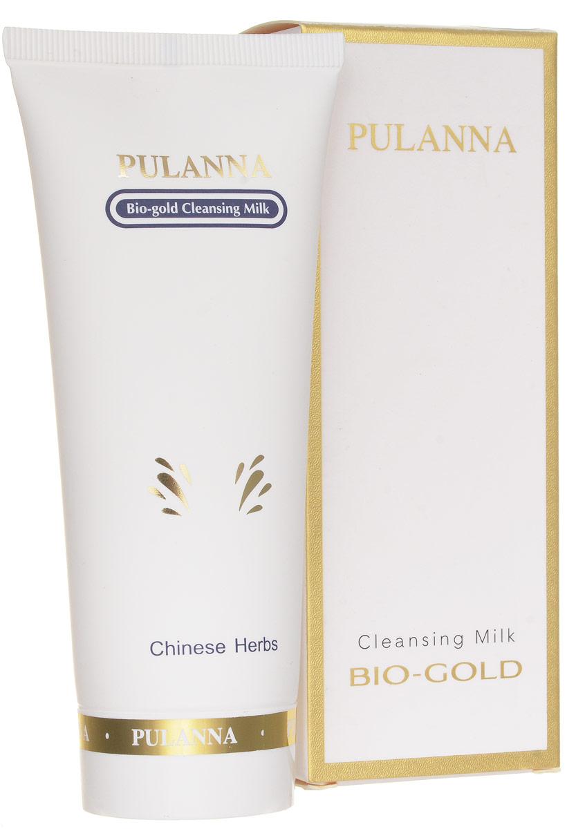 Pulanna Очищающее молочко с золотом на основе био-золота - Bio-gold Milk 90 г цена