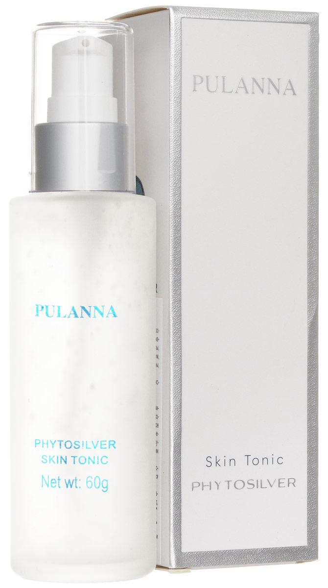Pulanna Тоник для лица на основе био-серебра - Phytosilver Skin Tonic 60 г