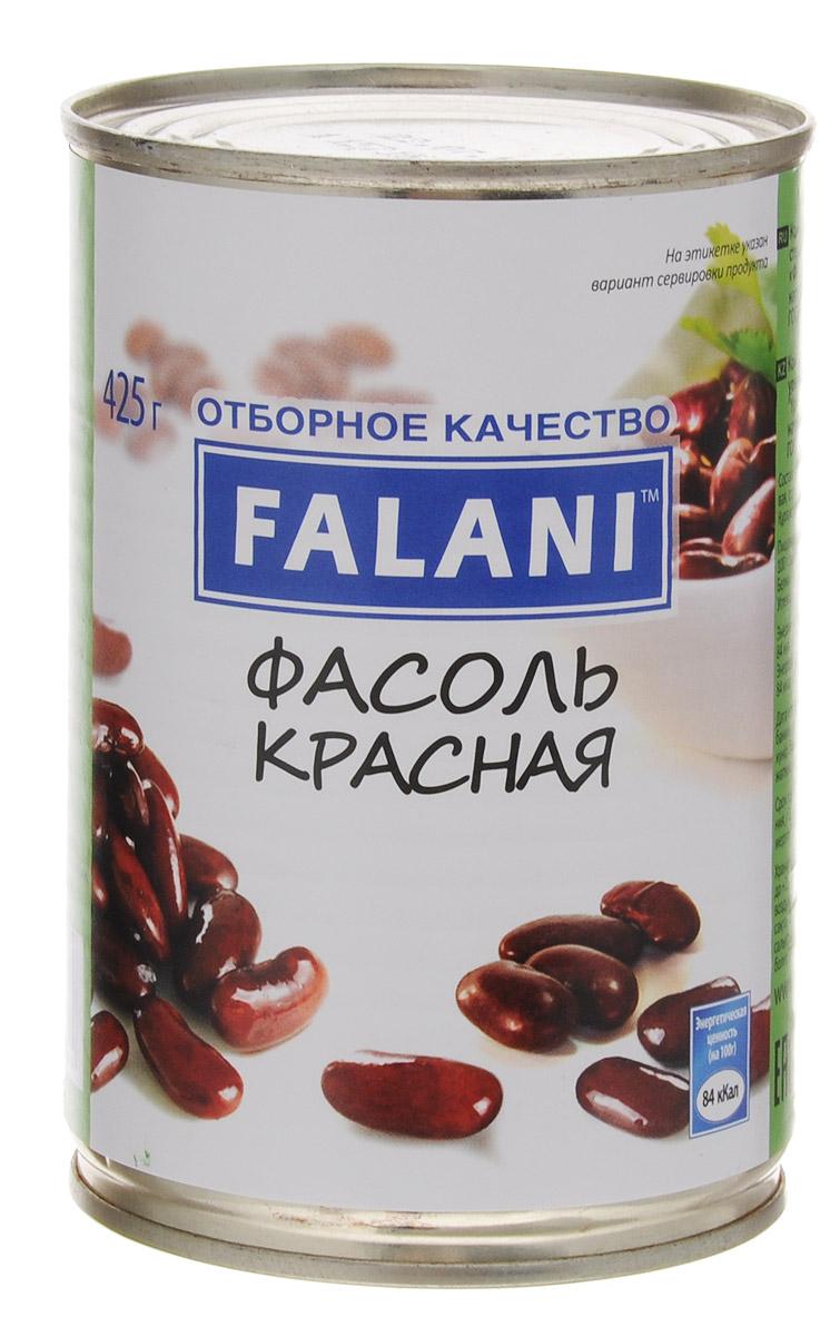 FALANI фасоль красная, 425 г фасоль красная натуральная фрау марта 310 г