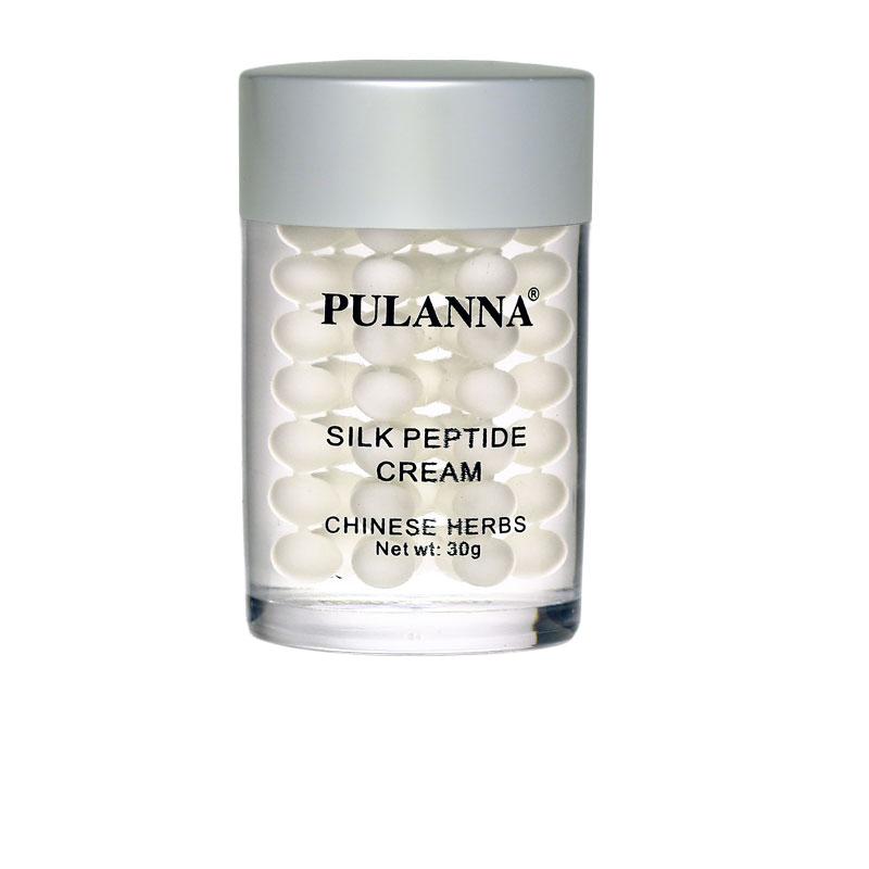PulannaШелковый крем на основе пептидов шелка - Silk Peptide Cream 30 г Pulanna