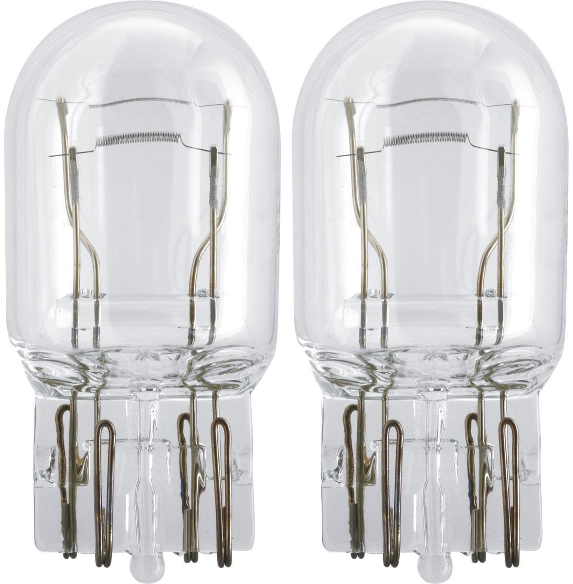 Лампа автомобильная галогенная Philips Vision, сигнальная, цоколь W21/5W, 12V, 21/5W, 2 шт лампа галогенная philips h7 5000k diamond vision максимальный эффект ксенона 2 шт 12972dvs2