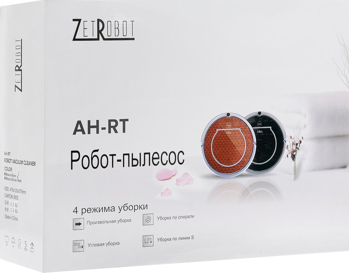 Робот-пылесос ZetRobot AH-RT, Silver Red, цвет панда ZetRobot