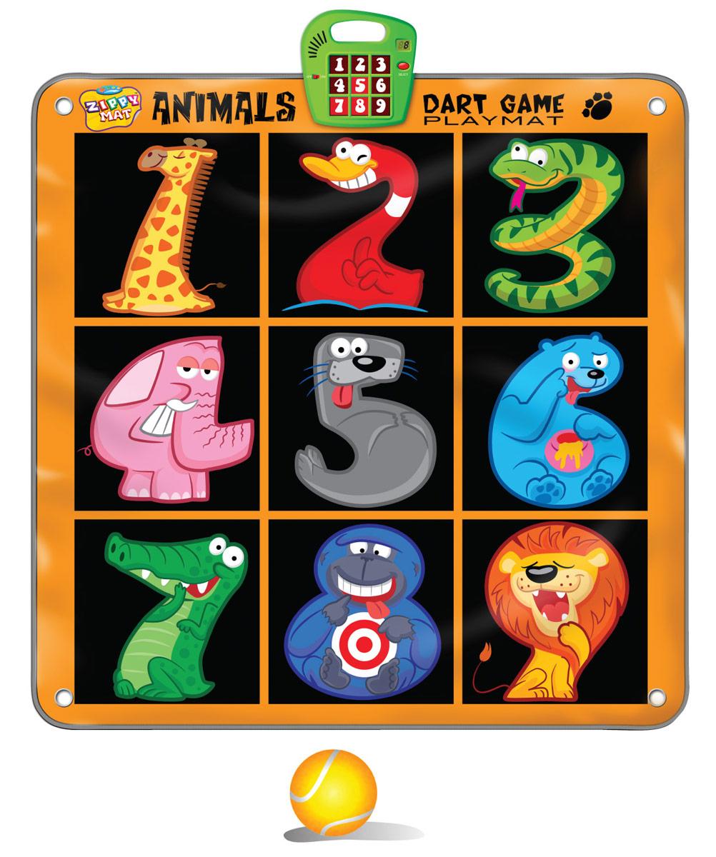 Ami&Co Игровой коврик музыкальный Дартс SLW9786 игрушка amico дартс slw9784