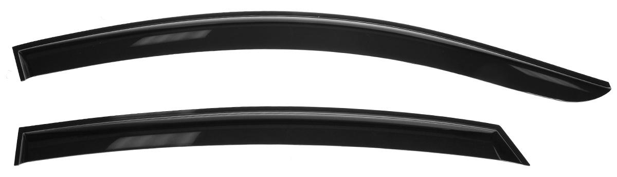 цена на Дефлекторы окон Voron Glass Samurai, для седана Hyundai Solaris 2011-, 4 шт