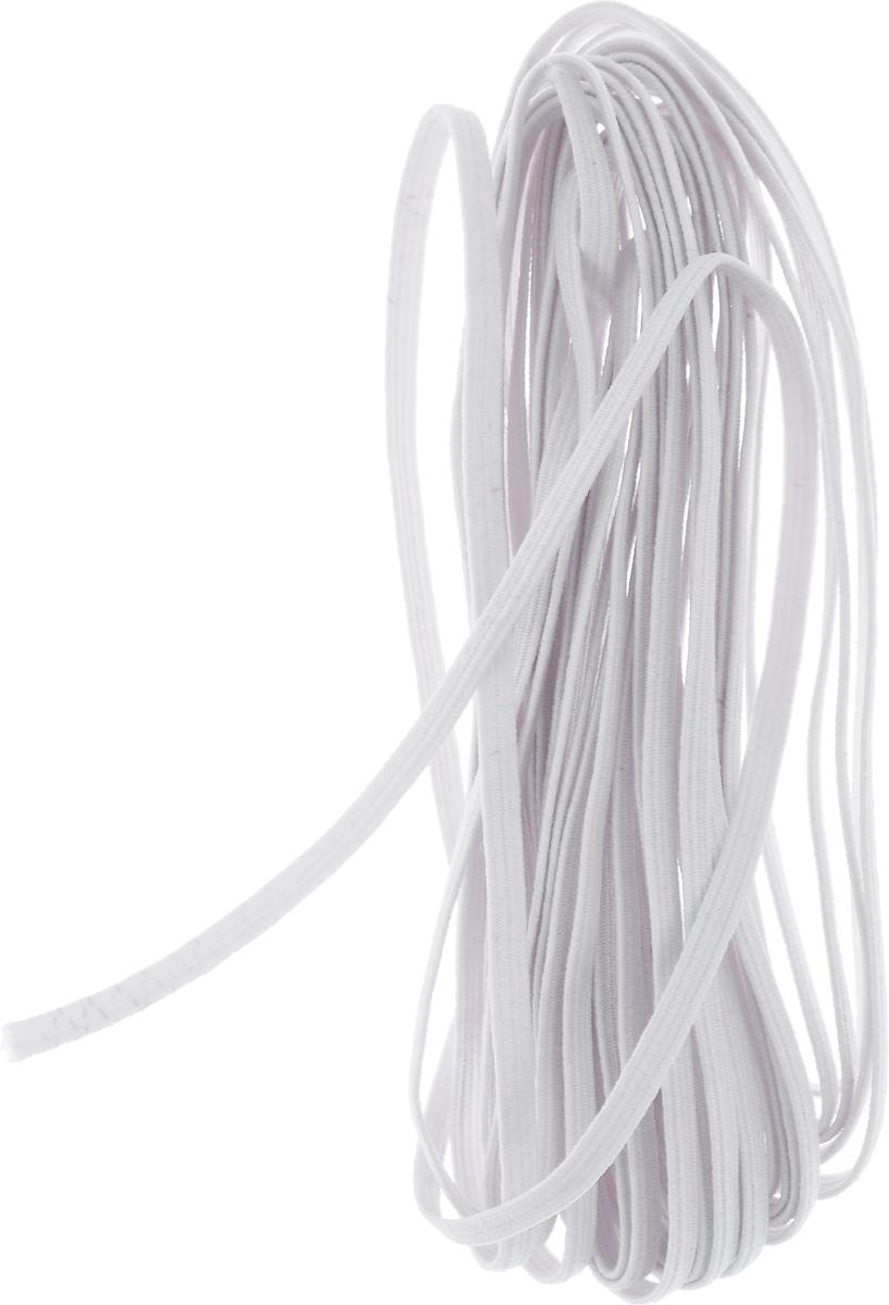 """Резинка бельевая """"Pony"""", цвет: белый, 0,3 х 500 см"""