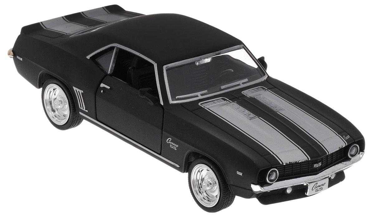 Uni-Fortune Toys Модель автомобиля Chevrolet Camaro SS 1969 цвет черный