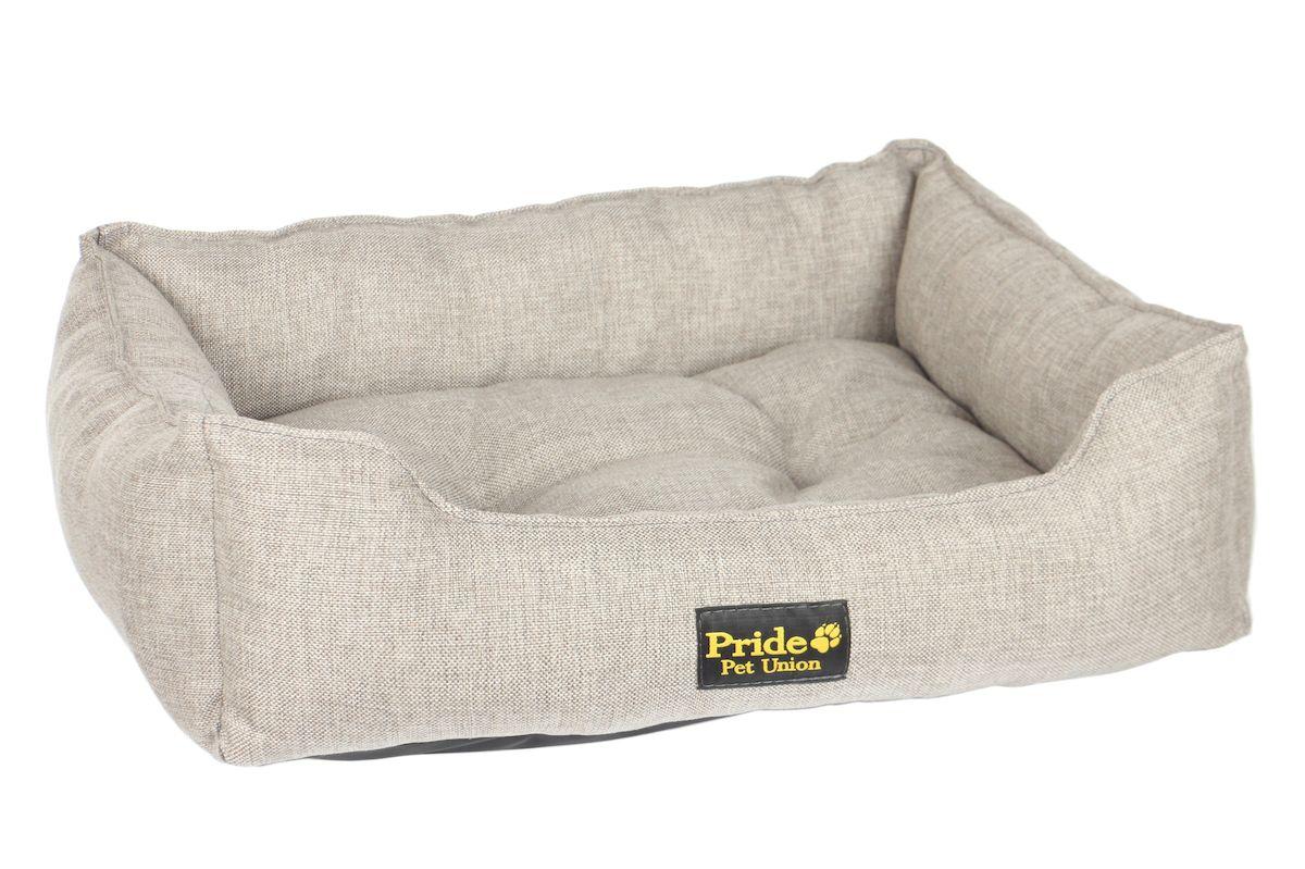 Лежак для животных Pride Прованс, цвет: бежевый, 60 х 50 х 18 см