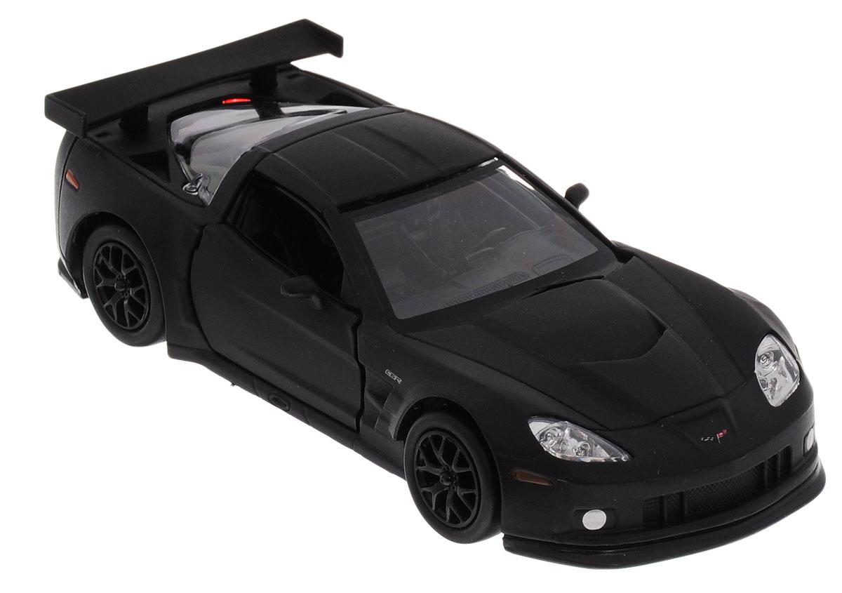 Uni-FortuneToys Модель автомобиля Chevrolet Corvette C6-R цвет черный