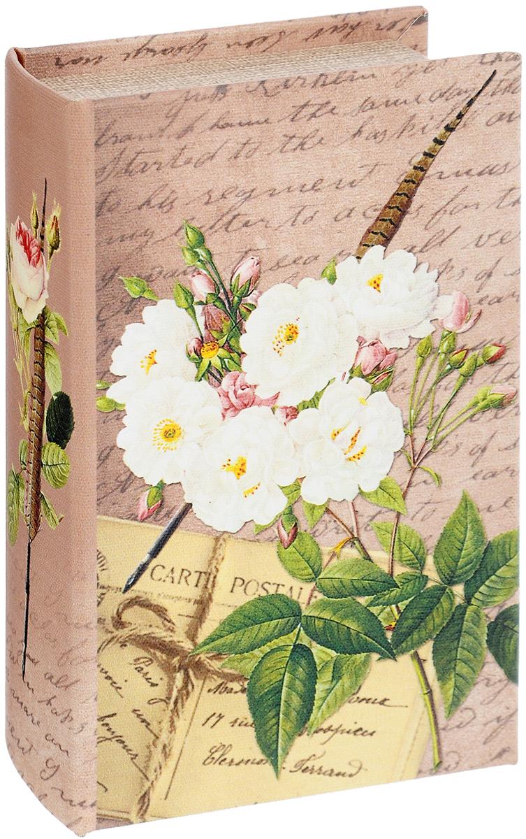 """Шкатулка-сейф Феникс-Презент """"Белые розы"""""""