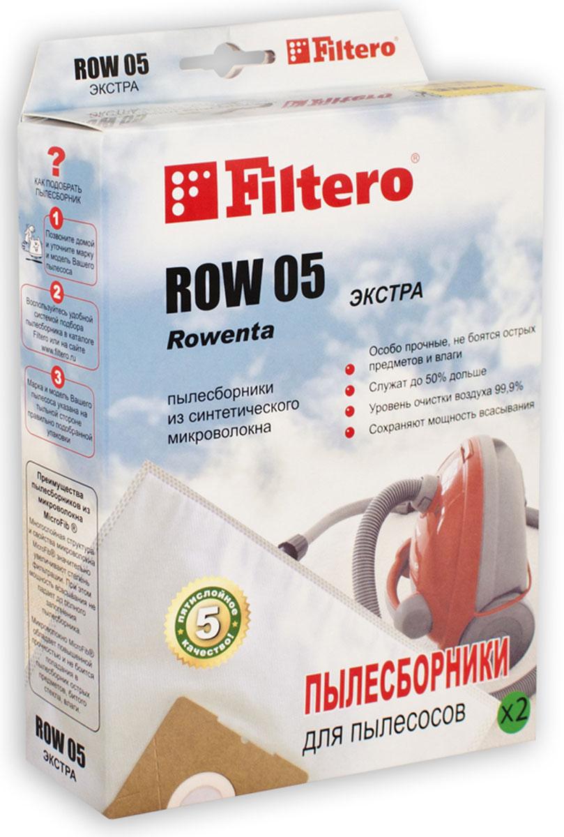Filtero ROW 05 Экстра комплект пылесборников, 2 шт philips ru