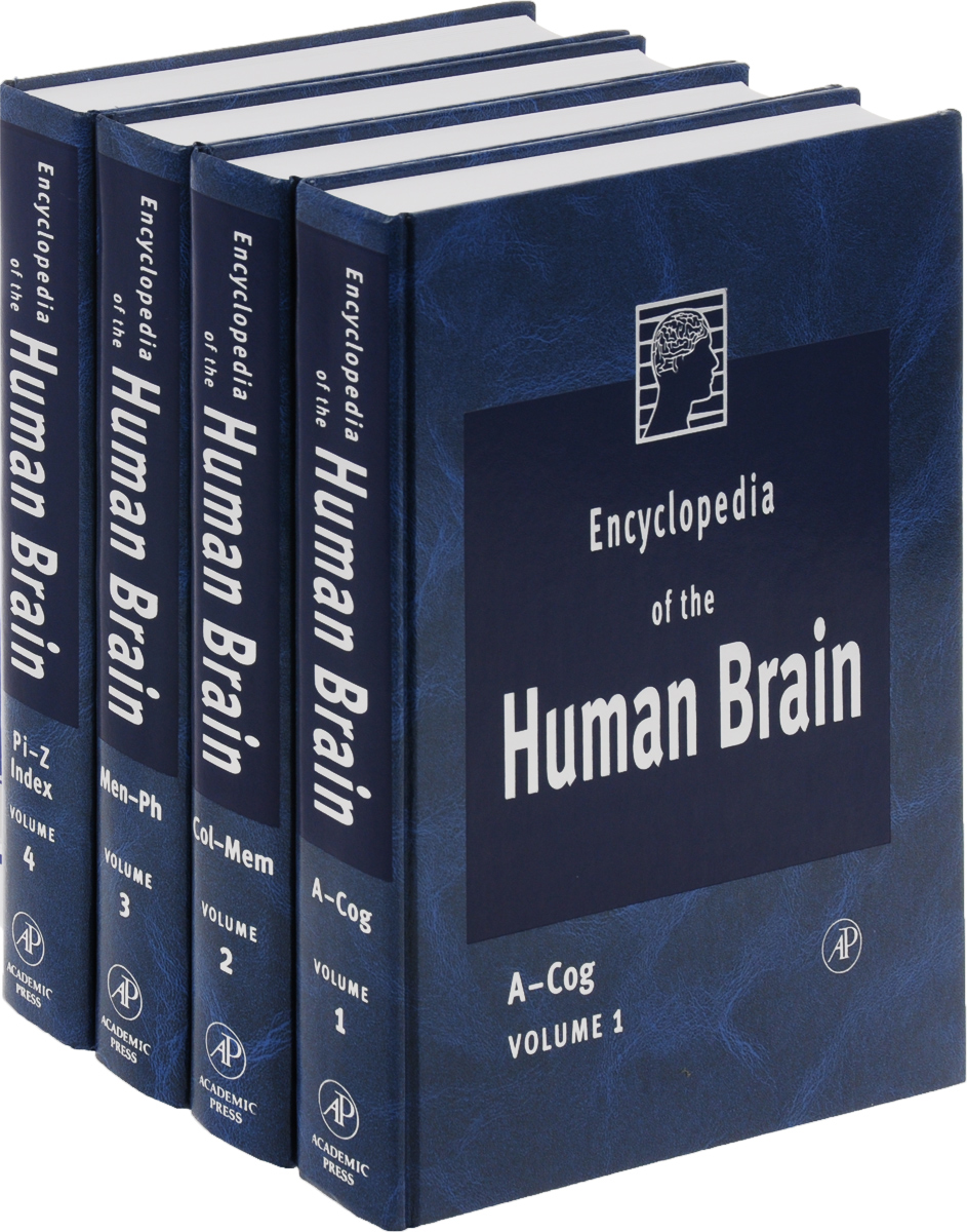 Encyclopedia of the Human Brain, Four-Volume Set, (комплект из 4 книг) gang of four gang of four entertainment