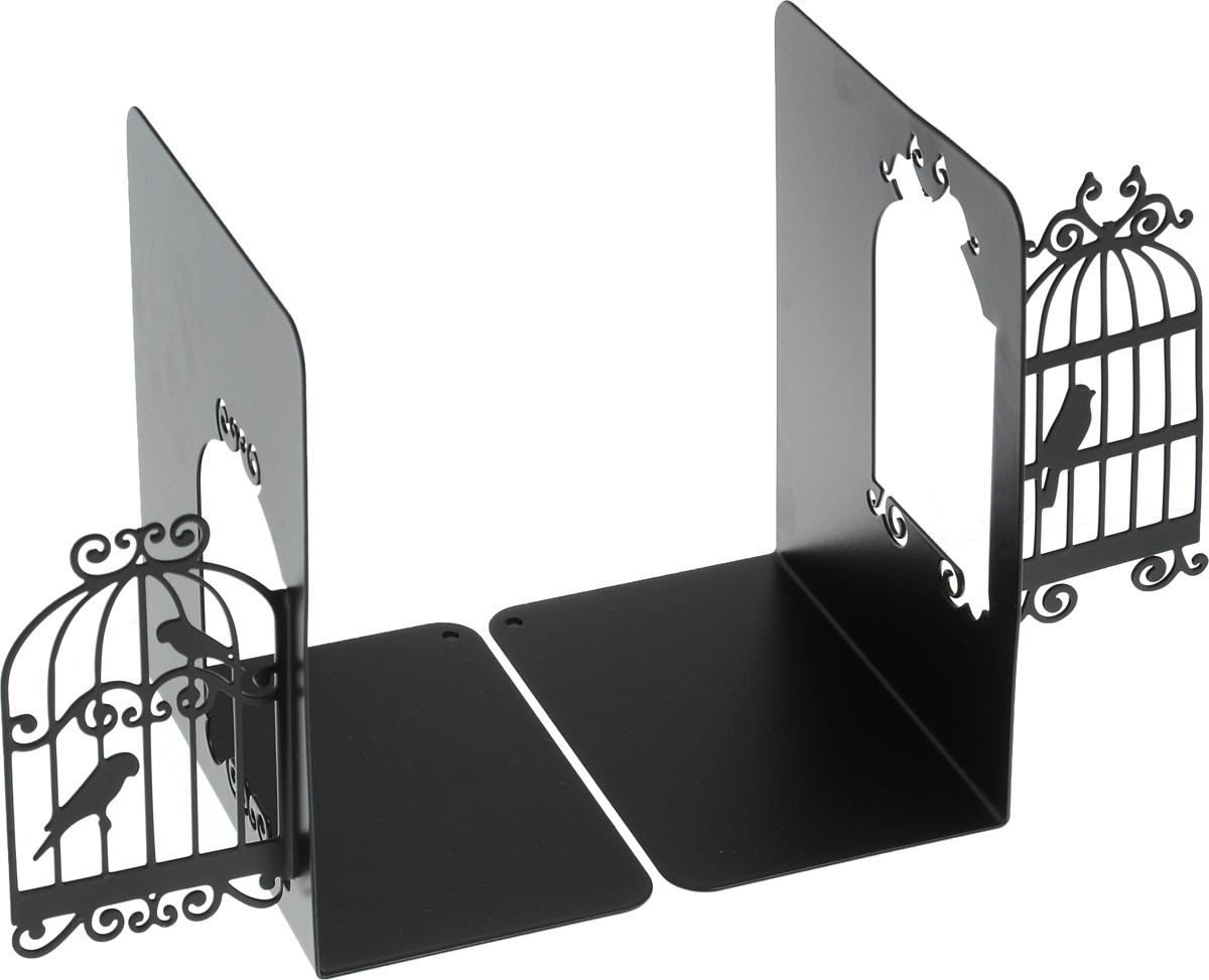 Подставка-ограничитель декоративная для книг Феникс-Презент Клетки для птиц, 2 шт подставка ограничитель для книг штурман 2 шт