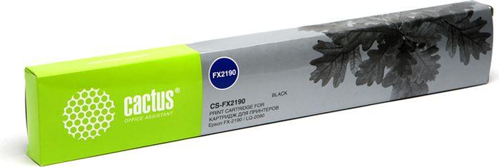 Cactus CS-FX2190, Black картридж ленточный для Epson FX-2190/LQ-2090