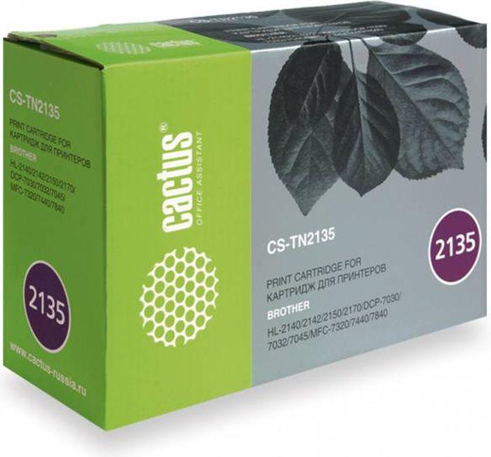 Тонер-картридж Cactus CS-TN2135, для лазерных принтеров, черный