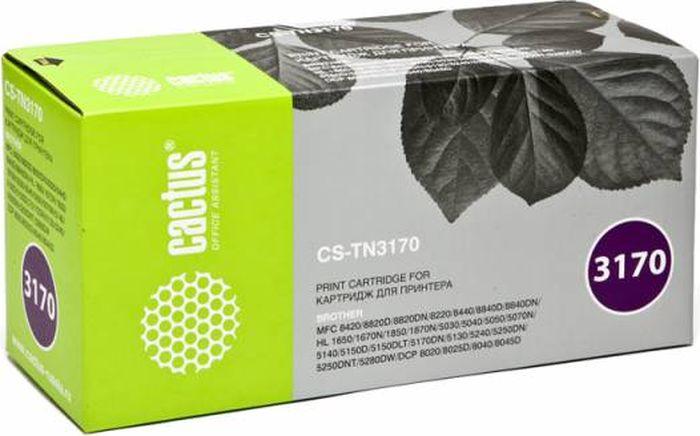 Картридж Cactus CS-TN3170, черный, для лазерного принтера