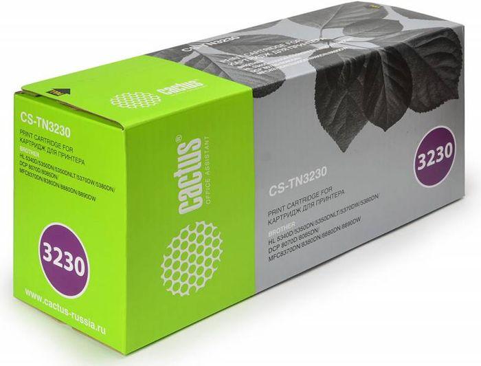 Картридж Cactus CS-TN3230, черный, для лазерного принтера