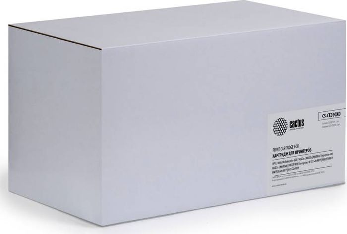 Картридж Cactus CS-CE390XD, черный, для лазерного принтера