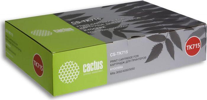 Картридж Cactus CS-TK715, черный, для лазерного принтера все цены