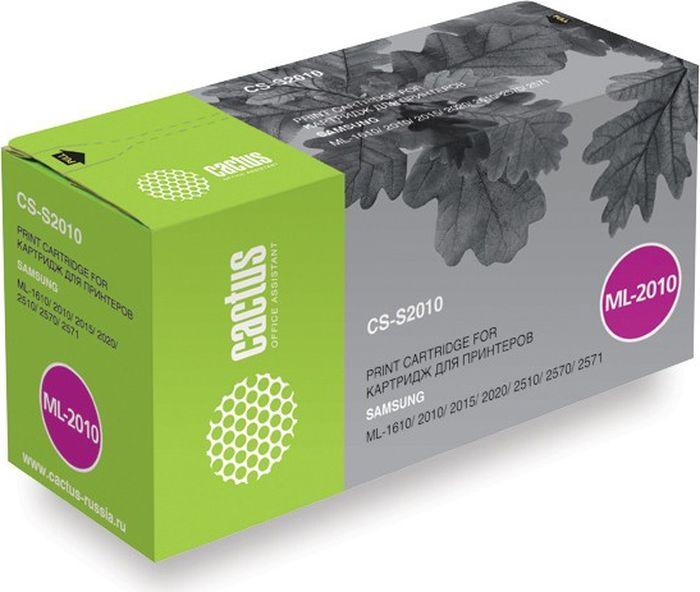Картридж Cactus CS-S2010, черный, для лазерного принтера