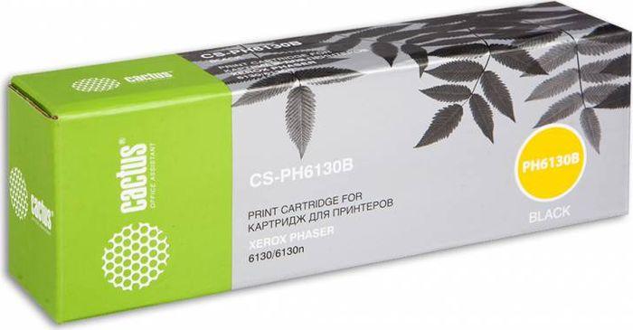 Картридж Cactus CS-PH6130B, черный, для лазерного принтера