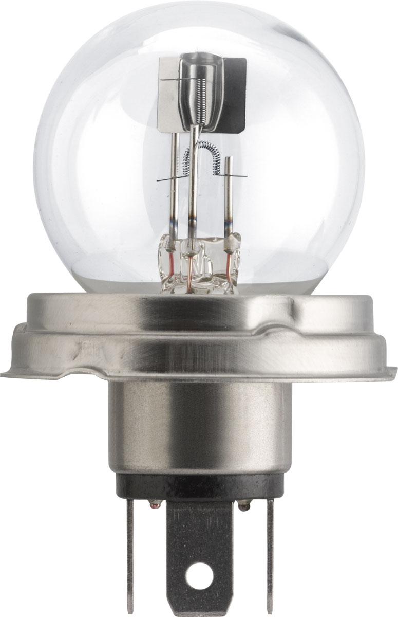 Лампа автомобильная галогенная Philips Vision, сигнальная, цоколь R2 (P45t), 12V, 45/40W. 12620C1 лампа автомобильная philips 12821b2 бл