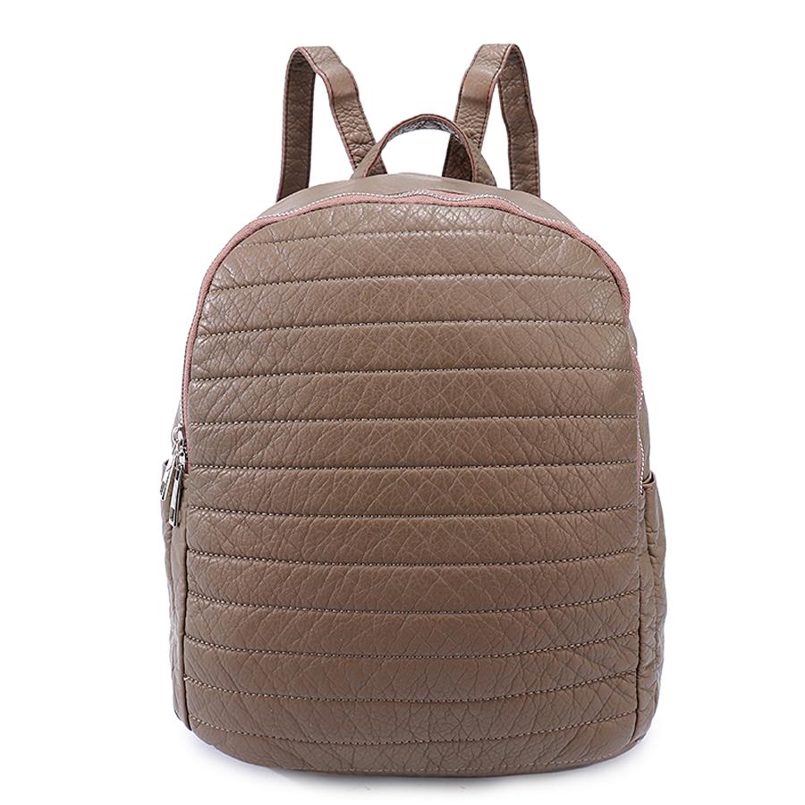 Рюкзак женский Orsa Oro, цвет: бронзовый. D-192/7 цена