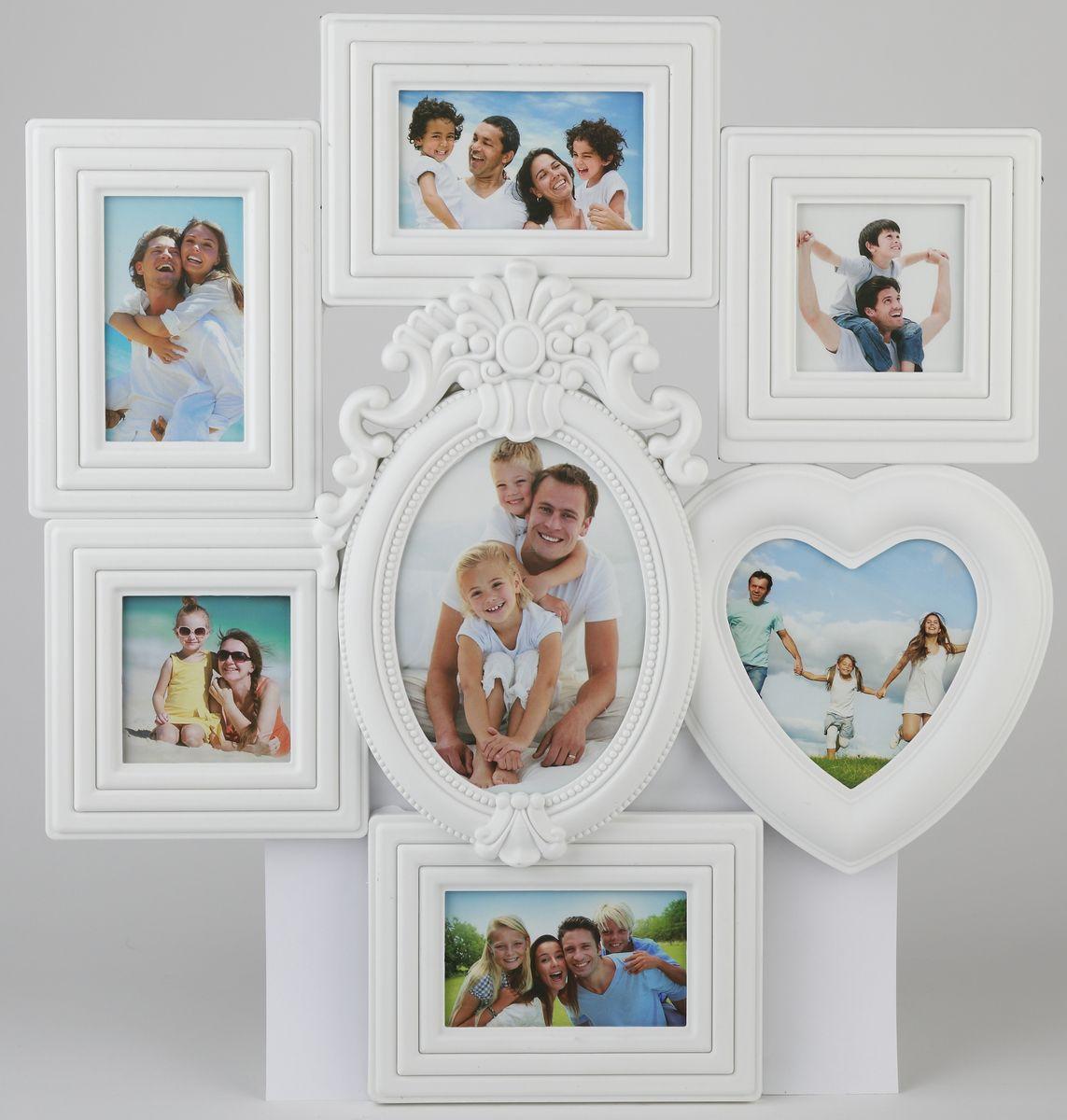"Фоторамка ""Image Art"", для 7 фотографий, 51 х 47 см"