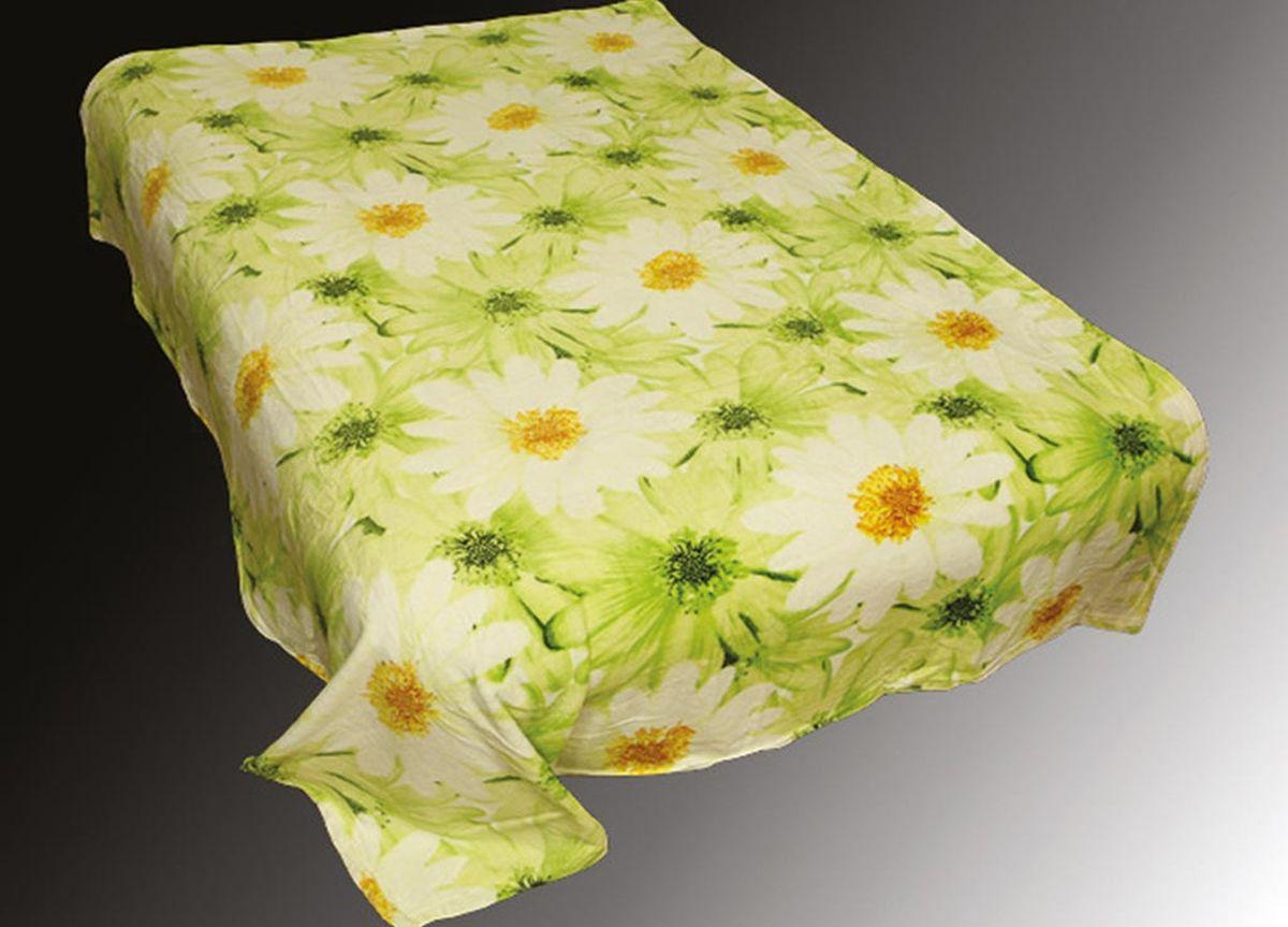 Плед ТД Текстиль Absolute, печатный, 86047, светло-зеленый, 180 х 230 см