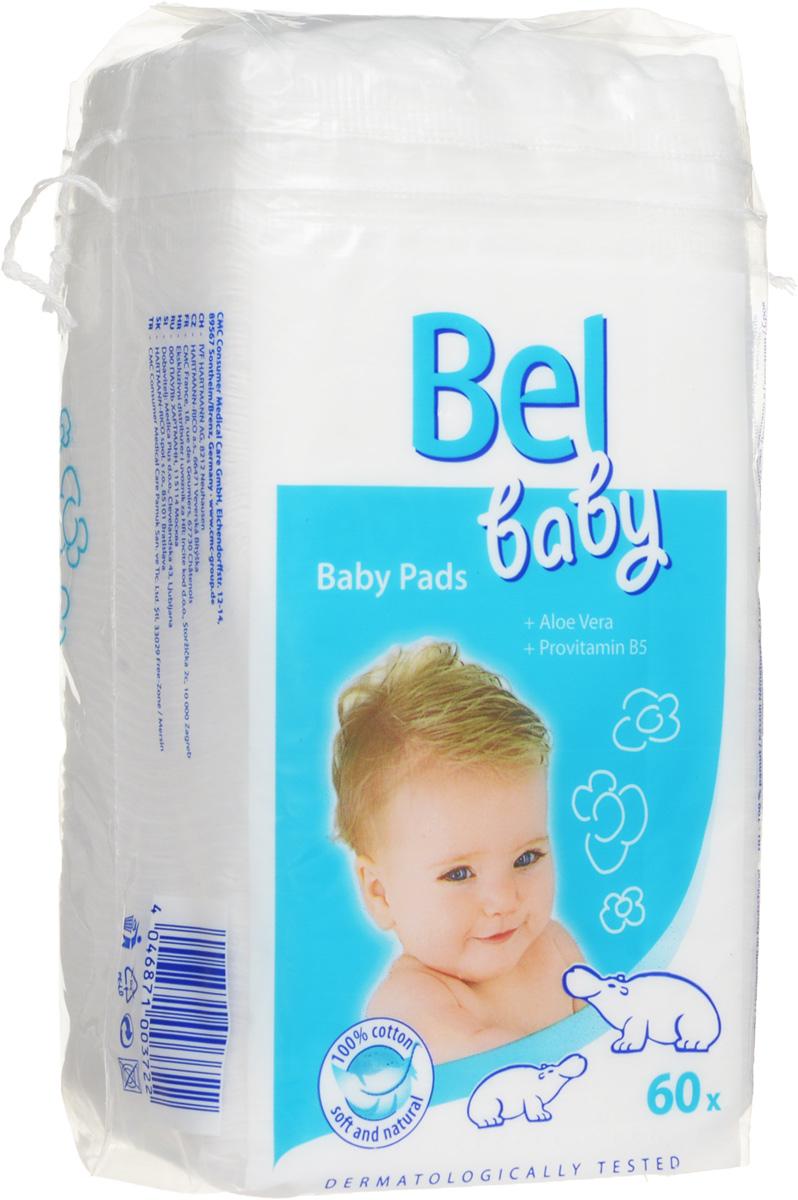 """Hartmann Детские ватные подушечки """"Bel Baby Pads"""", 60 шт"""