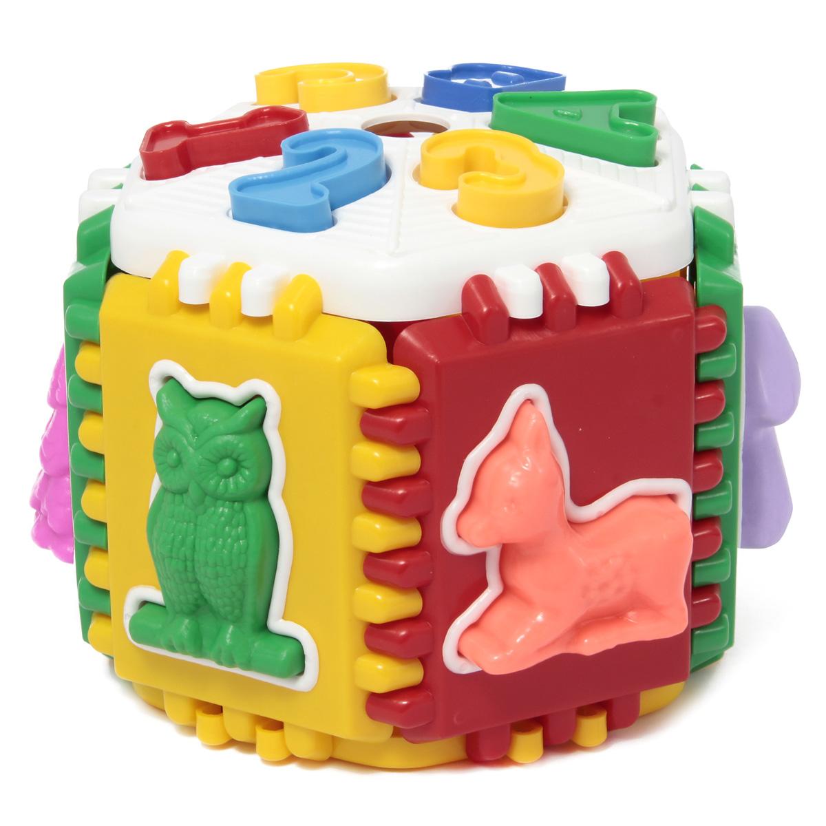 Развивающая игрушка Логика лесная школа/26 игрушка развивающая логический квадрат артикул д020