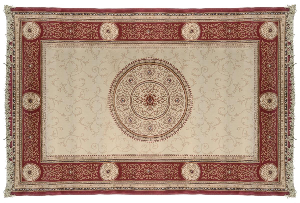 Ковер Oriental Weavers Кастл, цвет: коричнево-красный, бежевый, 120 х 180 см. 212 R ковер oriental weavers леа цвет коричневый 120 х 180 см 14922