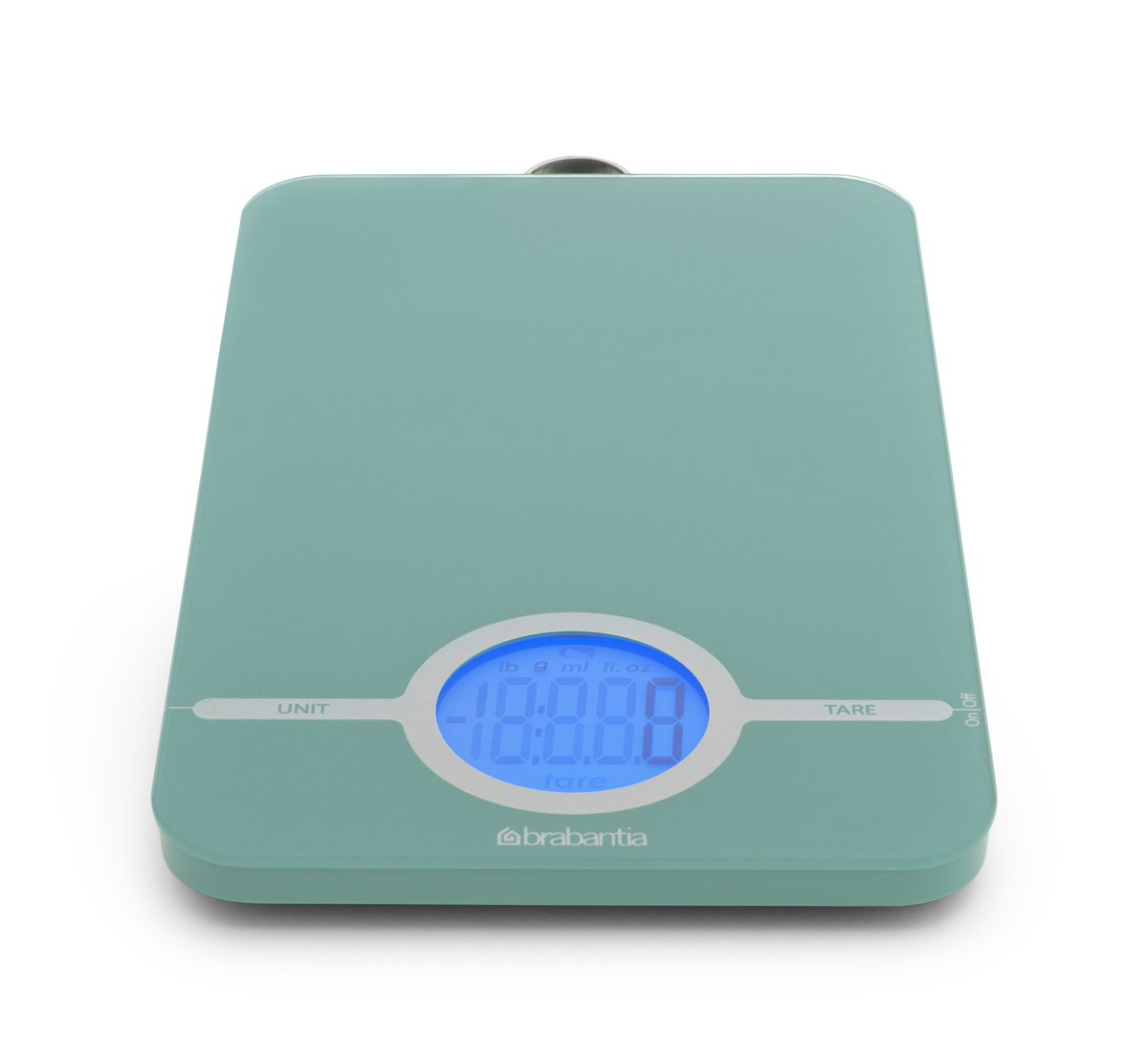 """Весы кухонные """"Brabantia"""", цифровые, цвет: мятный. 480720"""